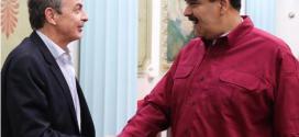 Presidente Maduro y Zapatero se reunieron para abordar diálogo con la oposición