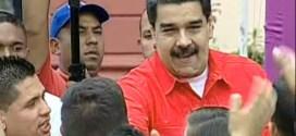Presidente Maduro recibe a los estudiantes universitarios en el Palacio de Miraflores