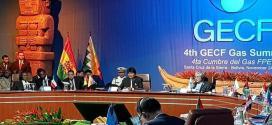 Presidente de Bolivia lidera cumbre del Foro de Países Exportadores de Gas