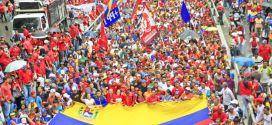 Pueblo revolucionario se moviliza este viernes 5 de octubre