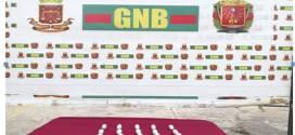 GNB Lara detiene a ciudadana con 32 envoltorios de estupefaciente