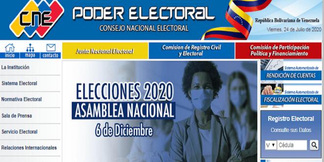 ESPECIAL | Consulte en CNE si ha sido sorteado como integrante de mesa para Parlamentarias 6DIC