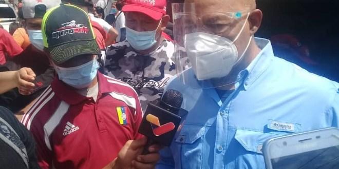 #RUTA ELECTORAL Comandante Luis Reyes Reyes invita a confiar en el proceso electoral venezolano