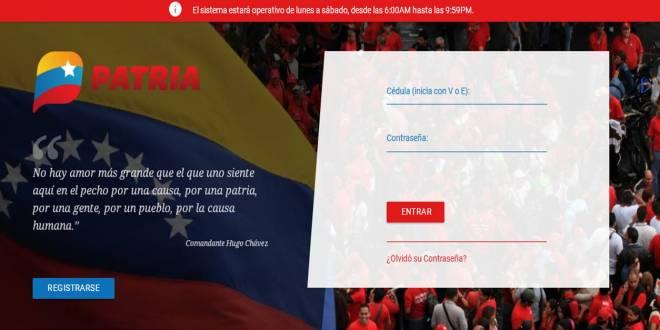 ¡ENTÉRATE DE ESTO!  Plataforma Patria activa opción de recargas y pago de servicios Movilnet, Movistar y Digitel