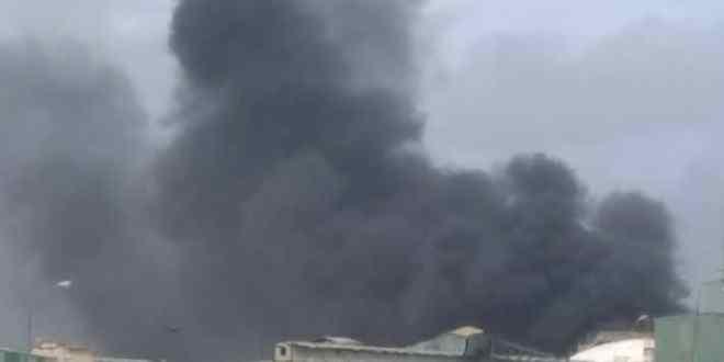 Reportan incendio tras explosión de planta  Pequiven en Morón