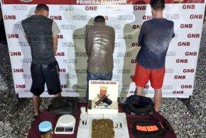 En Lara: GNB desmantela Gedo 'Los Musulmanes' dedicados al tráfico de drogas