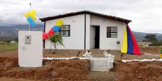 En Morán: Gobierno Bolivariano de Lara entregó 26 casas dignas en el urbanismo 'Puerta de Los Andes'