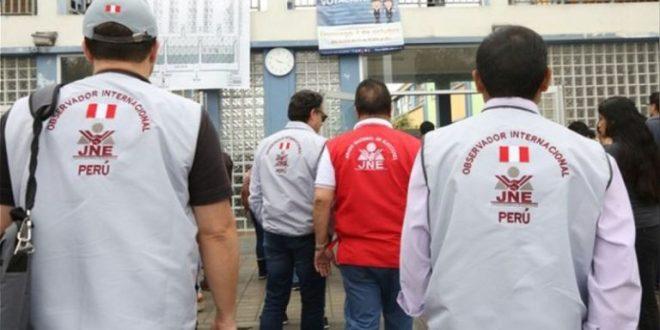 Jurado Nacional de Elecciones de Perú insiste en el aval de las misiones internacionales