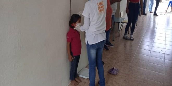 Gobierno Bolivariano lleva a cabo jornada de despistaje nutricional a 200 niños y niñas en Lara