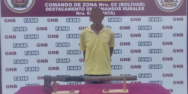 En Bolívar detuvieron a hombre por asesinato de su pareja e hijastra