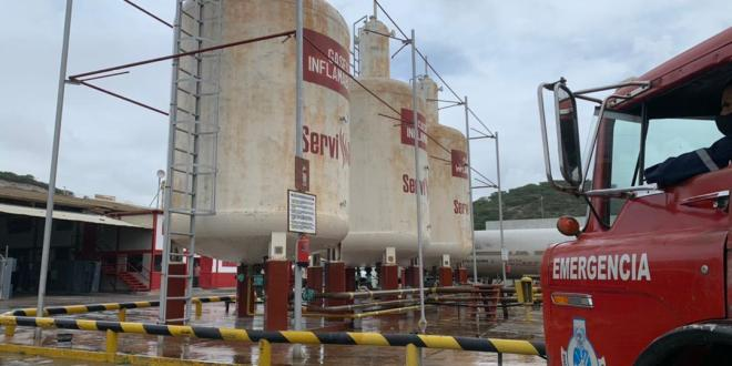 Trabajadores de GasLara reciben capacitación para eventos sísmicos en Planta Juan Guillermo Iribarren