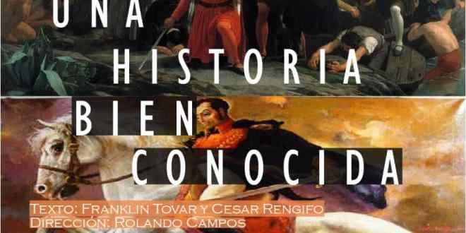 EN LA BIBLIOTECA PIO TAMAYO/ Se presentará obra teatral con motivo del Bicentenario de la Batalla de Carabobo
