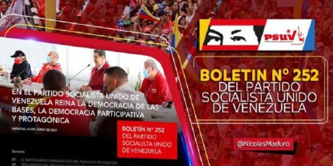 Pdte. Maduro invita al pueblo venezolano a conocer el Reglamento del proceso de consulta del PSUV