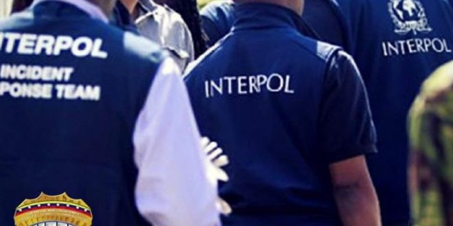 Más de 40 detenidos y 12 con alerta roja en operativos de la Interpol-Venezuela
