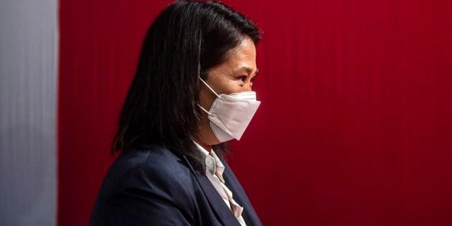 En Perú evalúan pedido de prisión preventiva contra Keiko Fujimori