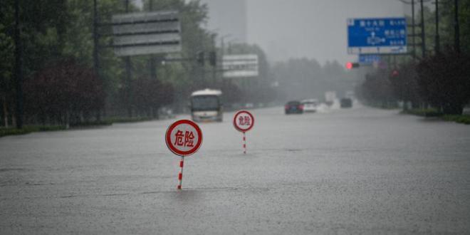 Graves inundaciones en el centro de China dejan al menos 25 muertos