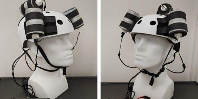 Científicos crean dispositivo electromagnético integrado en un casco para combatir el cáncer cerebral