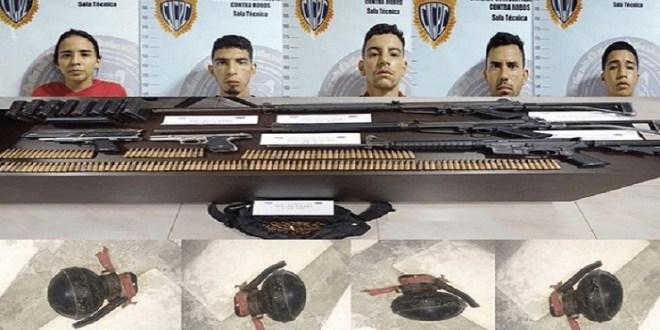 """Capturados 5 cómplices de la banda """"El Koki"""" de la Cota 905 (+DETALLES DEL OPERATIVO)"""