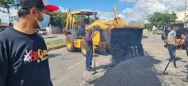 EN EL CENTRO OCCIDENTE DEL PAÍS / Se rehabilitan calles y avenidas de Barquisimeto