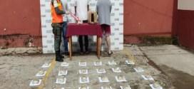 Incautan 50 panelas de drogas y 20 millardos de bolívares en Barinas