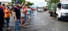 MÁS DE 500 FAMILIAS BENEFICIADAS / Plan Cayapa de GasLara llegó al sector Macías Mujica