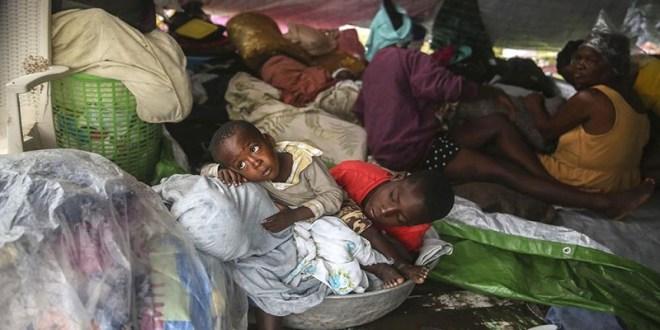 Grace azota Haití, tres días después del terremoto