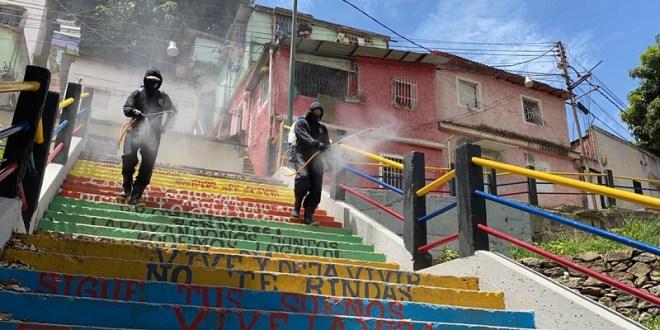 Misión Venezuela Bella ha realizado 9 millones 129 mil jornadas de desinfección y embellecimiento en el país