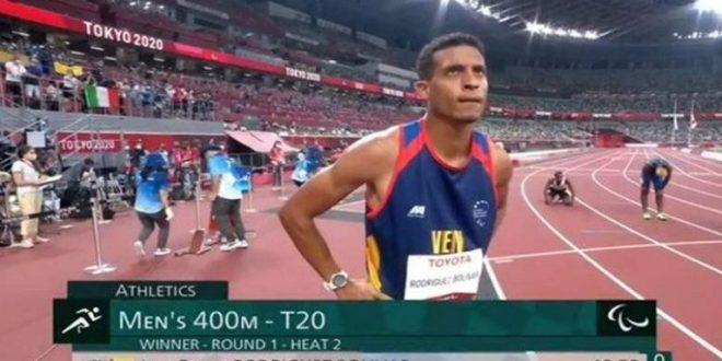 TOKIO 2020/ Venezolano Luis Felipe Rodríguez gana el heat 2 y clasifica a final de los 400m masculino T20