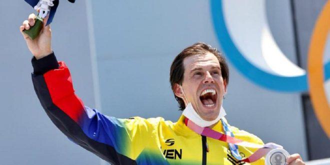 Daniel Dhers suma en ciclismo BMX la tercera medalla para Venezuela