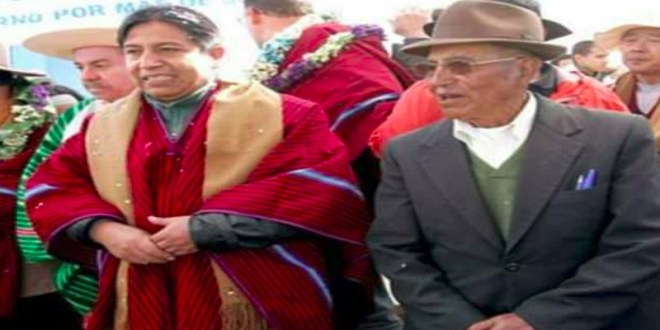 Venezuela envía mensaje de condolencia al vicepresidente de Bolivia por partida física de su padre