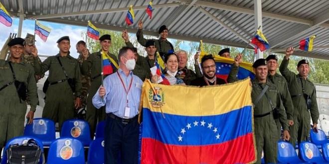 Venezuela dice presente en los Juegos Internacionales Armiya-2021 de Rusia