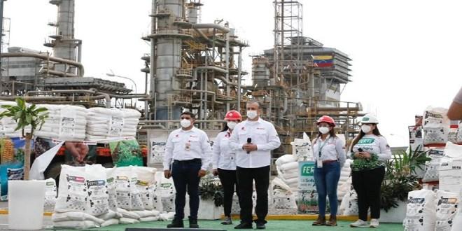 Gobierno Bolivariano reactiva Planta de Fertilizantes Oriente de Pequiven S.A.