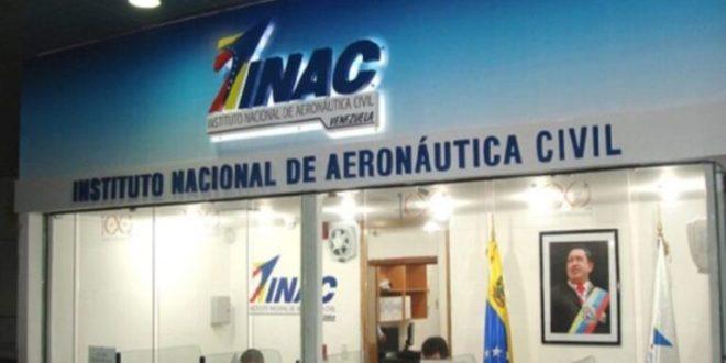 Inac informó que continúan activas operaciones en ruta Maiquetía-Cancún