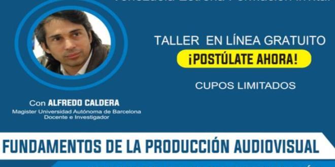 INSCRIBETE Y PARTICIPA / Conatel invita a participar en los talleres de formación audiovisual desde el 23 de agosto al 19 de septiembre