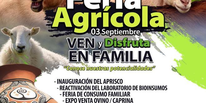 ¡HEY! NO TE LA PIERDAS/ Gran Expo Feria Agrícola en el municipio Jiménez