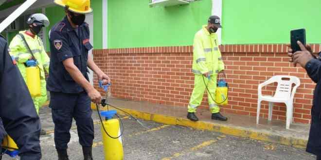 CDI de Bararida recibe Jornada de Desinfección, Limpieza y Embellecimiento número 73
