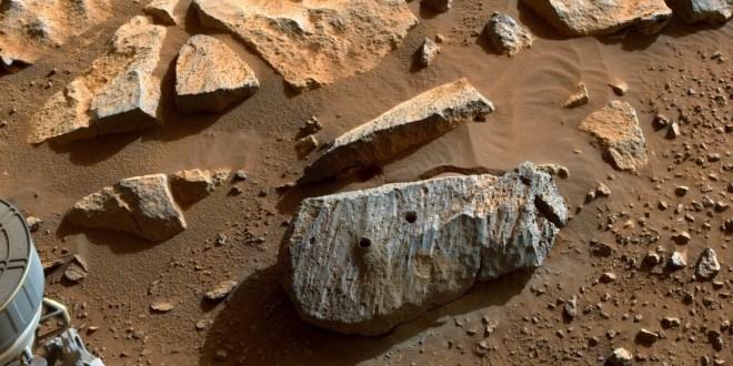 Rocas extraídas por el róver Perseverance en Marte revelan un «entorno potencialmente habitable»