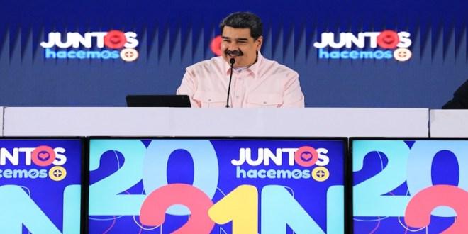 Presidente Maduro junto a candidatos y candidatas de la Patria en Taller de Formación: Hemos sellado la unión perfecta del GPP rumbo al 21N