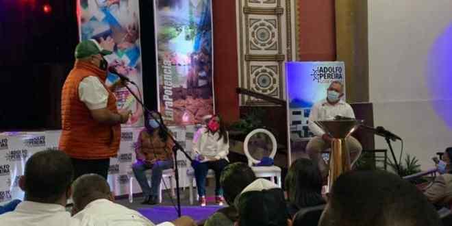 Gobernador Adolfo Pereira sostuvo encuentro con el sector empresarial de Lara