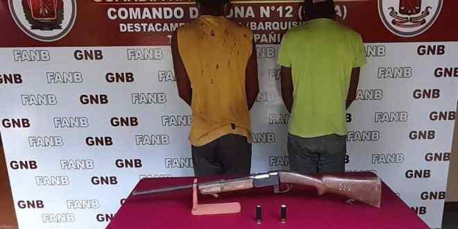 Detienen a dos ciudadanos dedicados al robo de ganado en Crespo