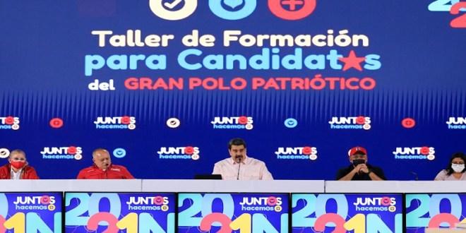 Presidente del PSUV: Oposición venezolana al participar en elecciones del 21NOV reconoce legitimidad del CNE