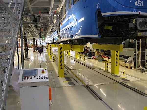 Elevación tren con TIA Portal de Siemens