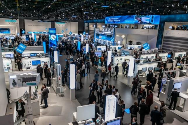 stand Siemens en SPS IPC Drives