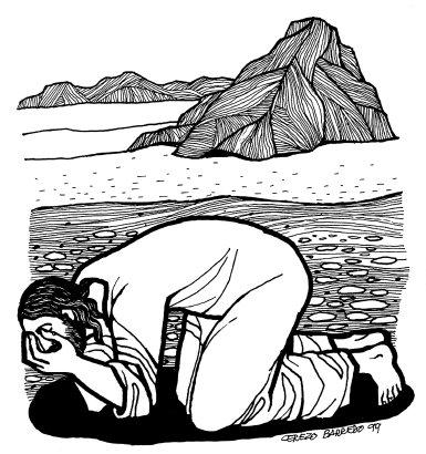 Evangelio según san Marcos (1,12-15), del domingo, 22 de febrero de 2015