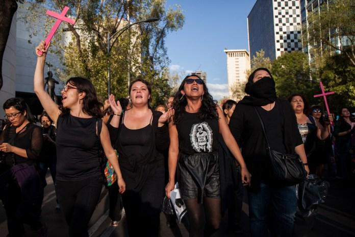 Mujeres en protesta