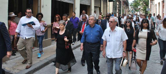 Antonio Guterres ONU Cuba b