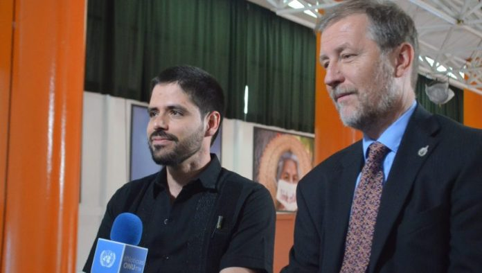 Enrique Guerrero y Jan Jarab