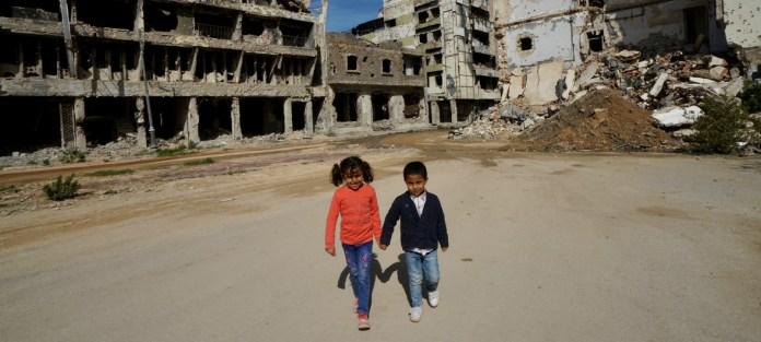 Niños libios