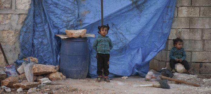 Niñas en Siria