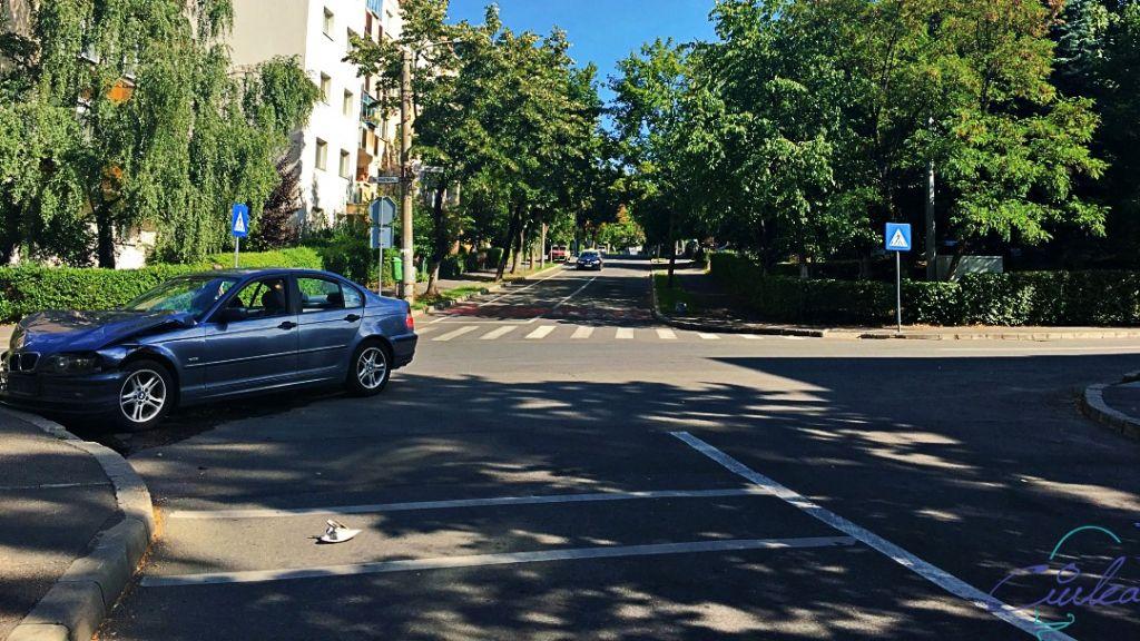 Accident Pasteur colț cu Viilor - Cluj-Napoca